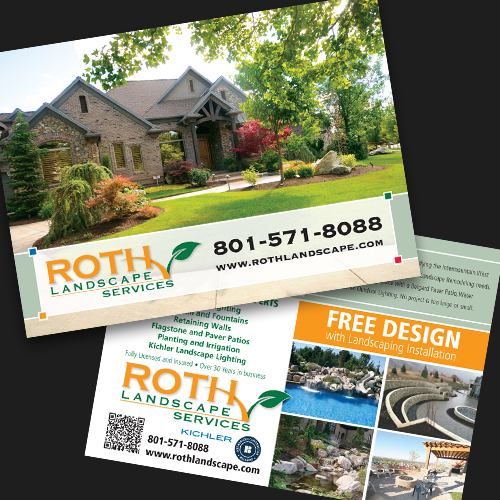 Roth Landscaping Postcard