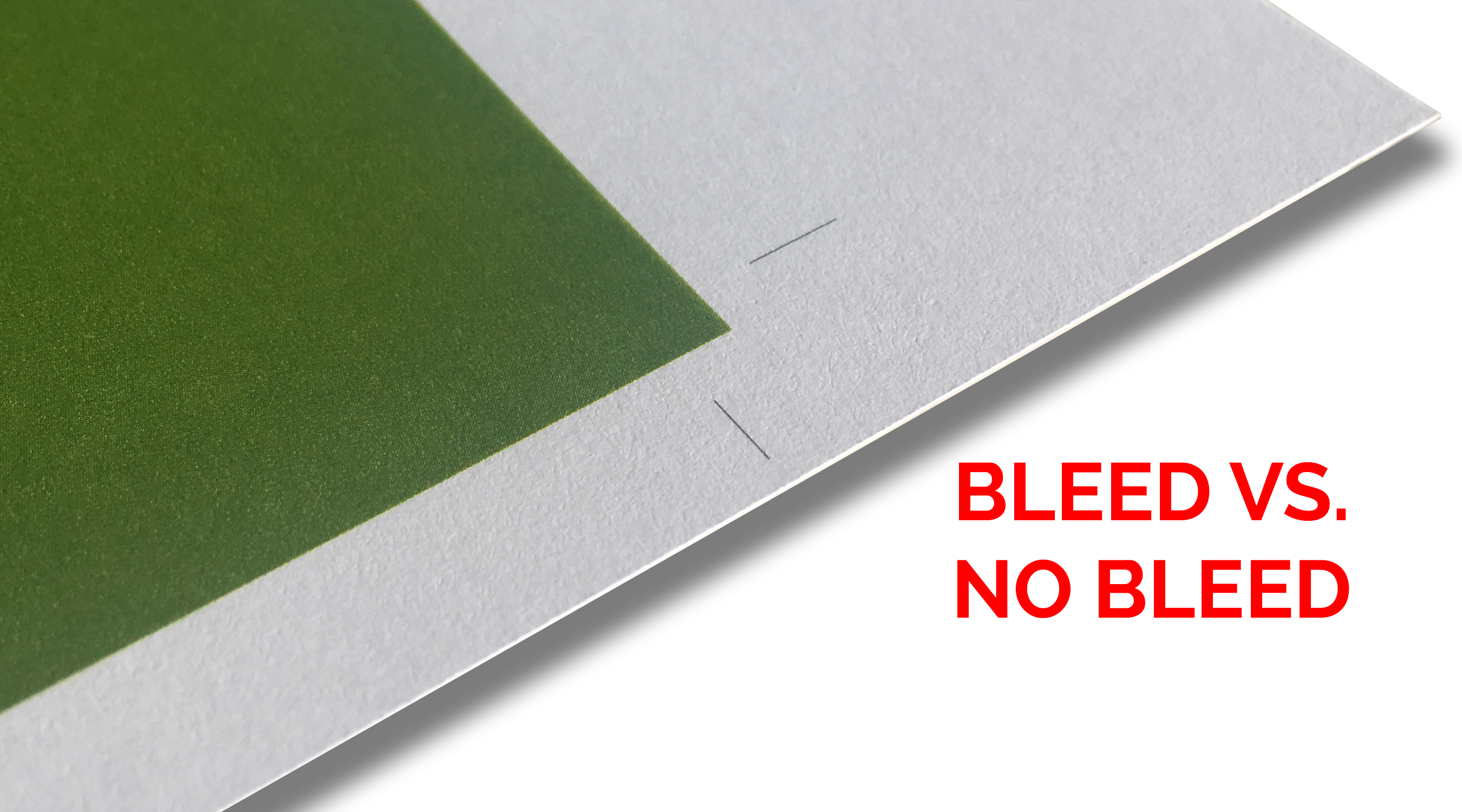 Printing Tips with Signature Press - Bleeds