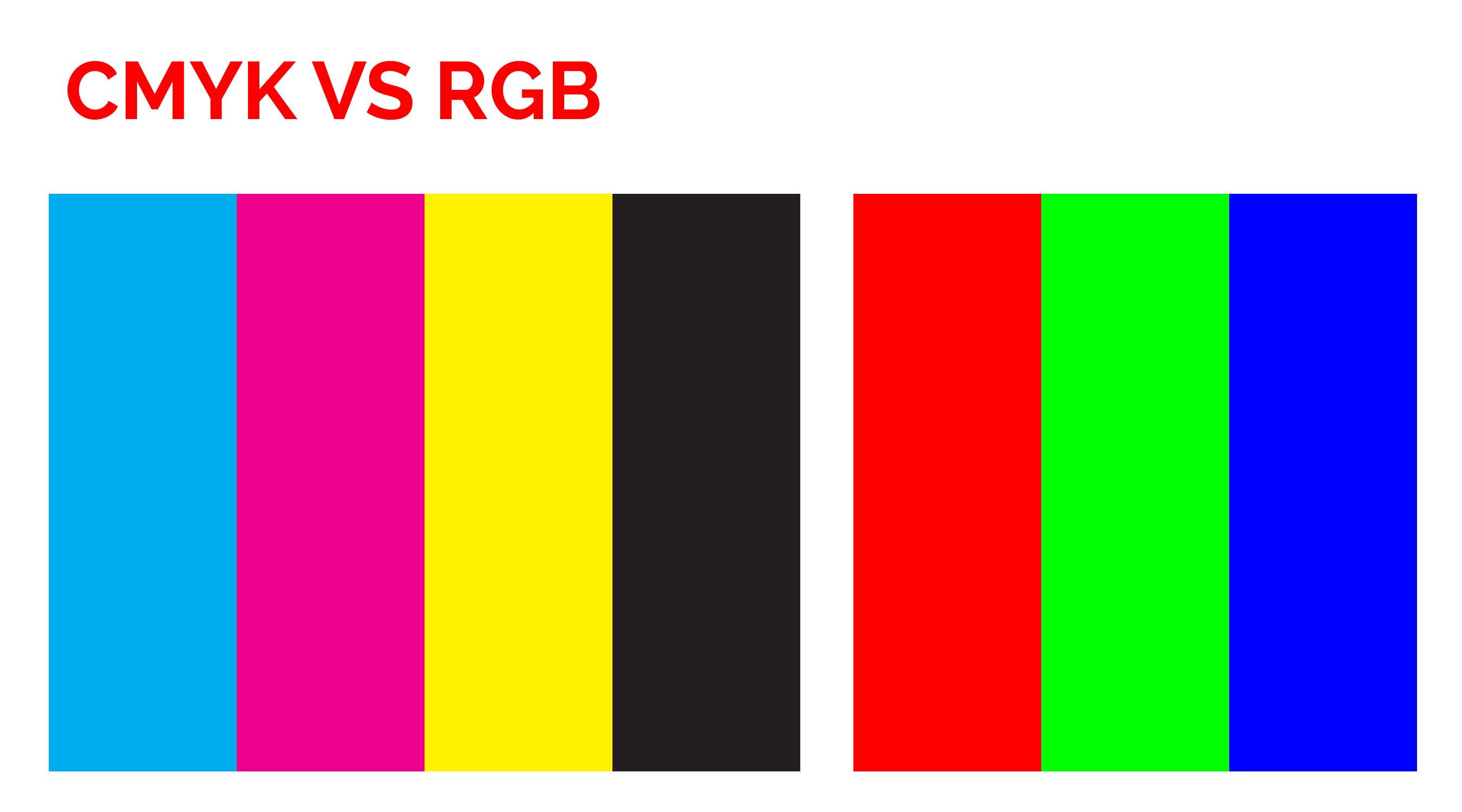 Printing Tips with Signature Press - CMYK vs RGB