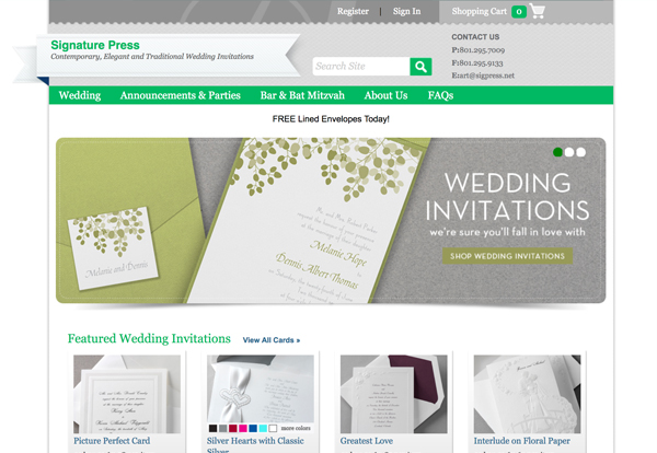 Signature Press Wedding and Event Invitations